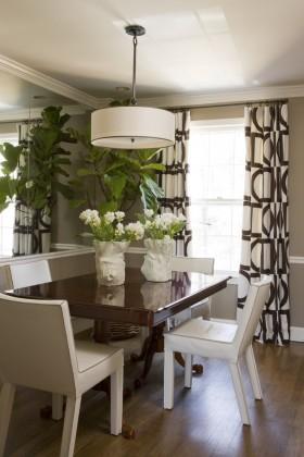 現代風格家居餐廳裝修設計圖