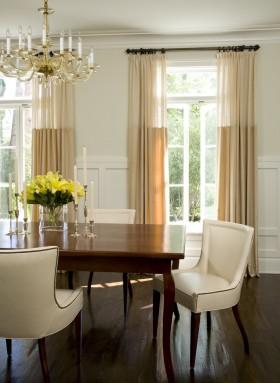 2013餐厅窗帘装修效果图