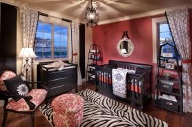 欧式风格婴儿房间装饰效果图欣赏