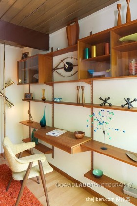 2012最新两室一厅书房装修效果图
