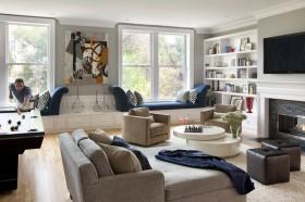 客厅飘窗设计效果图欣赏