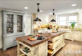 美式家居厨房装修整体橱柜效果图