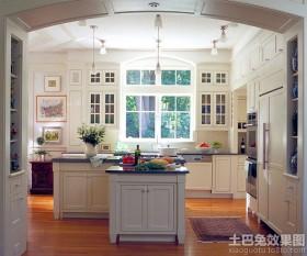美式家装厨房地板装修