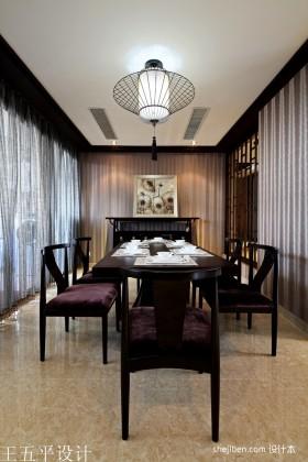 中西混搭装修风格餐厅效果图欣赏