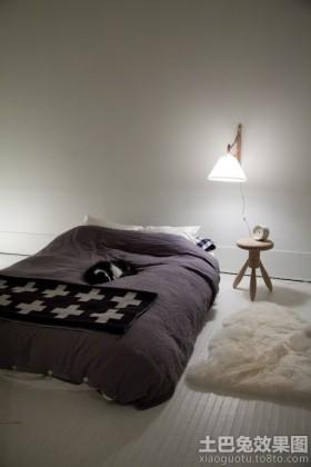 北欧日式混搭卧室装修效果图