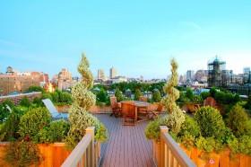 休闲阳台花园设计图片