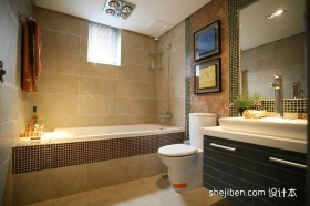 两室一厅卫生间装修效果图  2012卫生间装修效果图