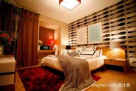 2012最新88平两室一厅卧室装修效果图