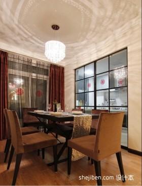 88平米两室一厅餐厅装修效果图  2012餐厅吊顶装修效果图