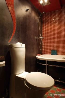 东南亚卫生间墙面漆效果图