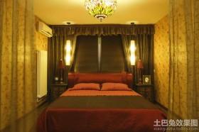 东南亚卧室装饰效果图