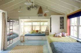 顶层阁楼儿童房卧室装修效果图大全