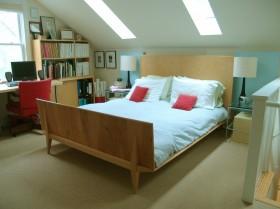小户型阁楼卧室装修效果图大全