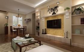 客厅装修效果图欣赏 50款电视背景墙装修效果图
