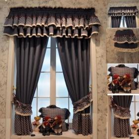 欧式窗帘图片  2013最新款窗帘装修效果图