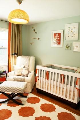 婴儿房装饰效果图欣赏