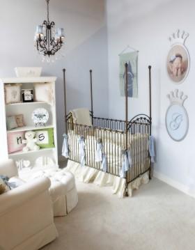 简欧婴儿房装修效果图欣赏