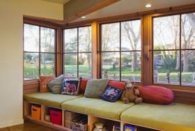 客厅飘窗收纳装修效果图