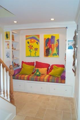 儿童房间背景墙装修效果图