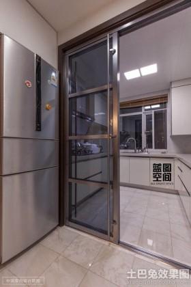 现代厨房门效果图欣赏