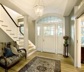 欧式风格楼梯玄关装修效果图片
