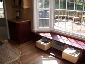 客厅飘窗储物柜装修效果图