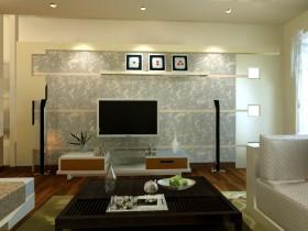 电视背景墙壁纸设计图片