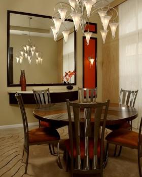 餐厅天然大理石餐桌图片
