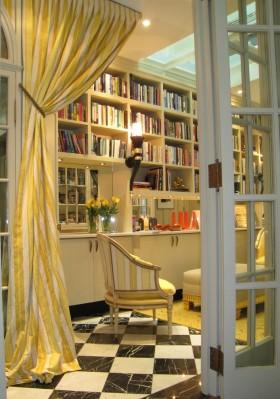 欧式书房窗帘效果图