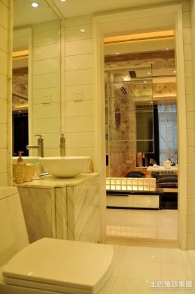 最新现代风格小卫生间装修效果图大全2013图片
