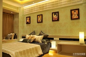 2013最新现代主卧室装修效果图欣赏