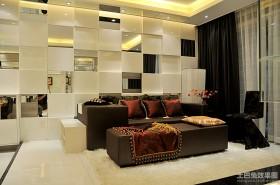 现代风格小客厅装修效果图欣赏