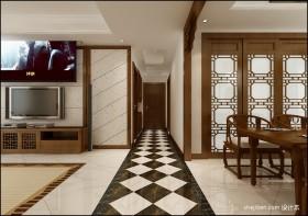 中式过道玄关设计图片