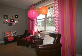 客厅窗帘吊顶装修效果图