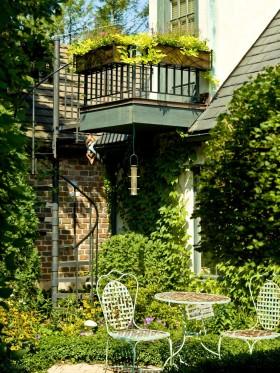 花园式阳台装修效果图