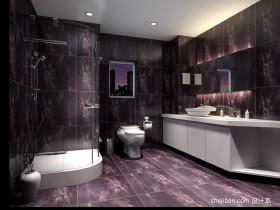 家装卫生间设计效果图两室一厅