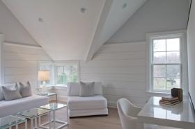 顶层斜顶阁楼装修效果图大全2012图片