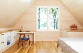 阁楼卧室书房装修效果图