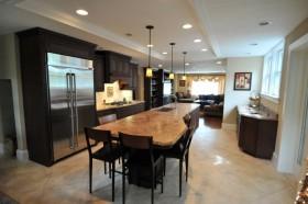美式简约厨房装修效果图大全