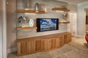 3d电视背景墙电视柜装修效果图