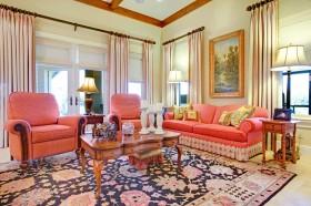 欧式别墅客厅装修效果图片