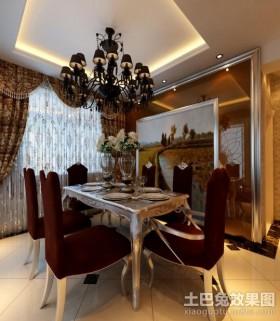 新中式风格餐厅装修效果图大全