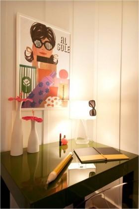 现代小书房书桌装修效果图大全