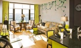 现代小客厅装修效果图欣赏