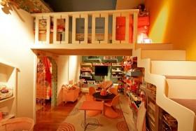 最新复式儿童房装修效果图