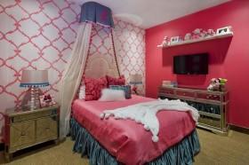 卧室背景墙壁纸图片