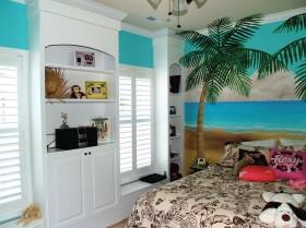 100平米二室二厅卧室飘窗装修效果图