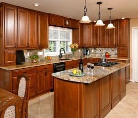 美式小厨房装修效果图大全