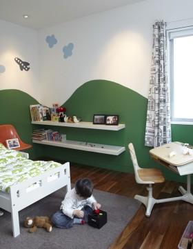 小户型儿童书房装修效果图