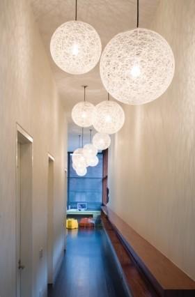 走廊吊顶灯具装修效果图
